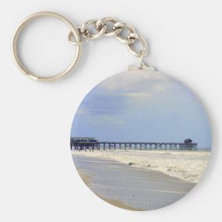 Cocoa Beach Pier Keychain