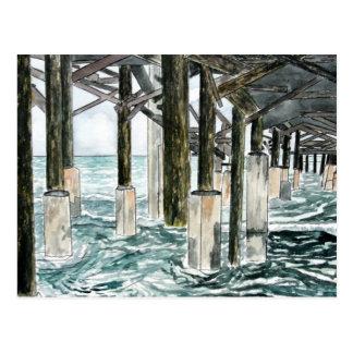 Cocoa Beach Pier Postcard
