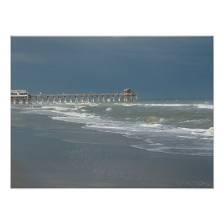 Cocoa Beach Pier Poster