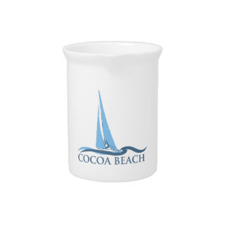 Cocoa Beach - Sailing Beverage Pitcher