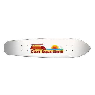 Cocoa Beach. Custom Skate Board