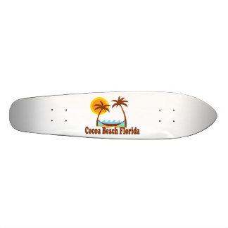 Cocoa Beach. Skateboard Deck
