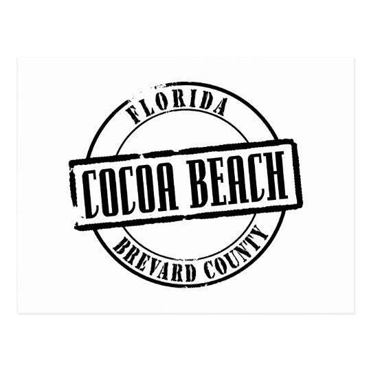 Cocoa Beach Title Postcard