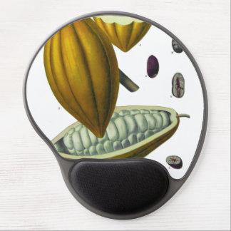 Cocoa bean vintage illustration mousepad gel mouse pad