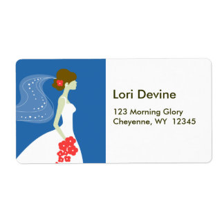 Cocoa Bridal shower designer labels