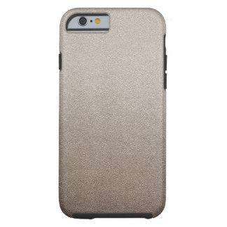Cocoa Brown Sand Visual Texture Ombre Normcore Tough iPhone 6 Case