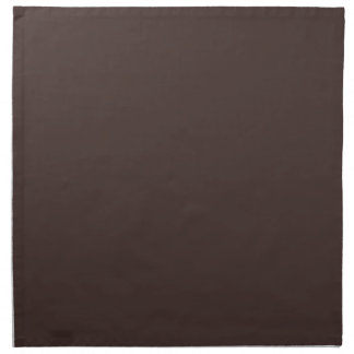 Cocoa Brown Taupe Color Trend Blank Template Cloth Napkin