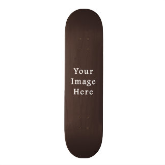Cocoa Brown Taupe Color Trend Blank Template Skate Deck