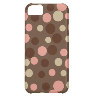 Cocoa Dots iPhone 5 Case