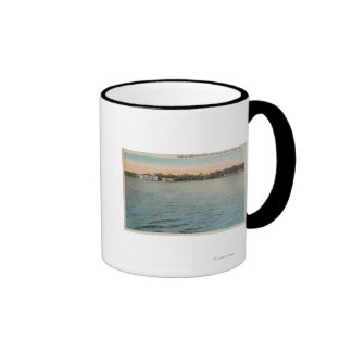 Cocoa, Florida - View of Brevard Hotel & Indian Mugs
