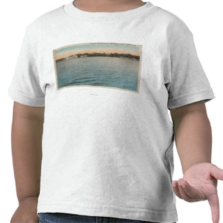 Cocoa, Florida - View of Brevard Hotel & Indian T Shirt