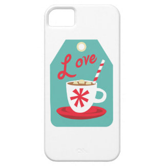 Cocoa Gift Tag iPhone 5 Case