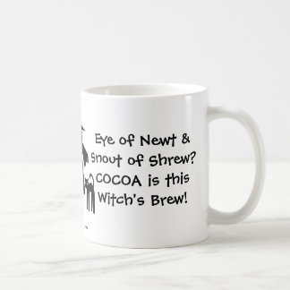Cocoa is this Witch s Brew A Cheeky Witch Mug