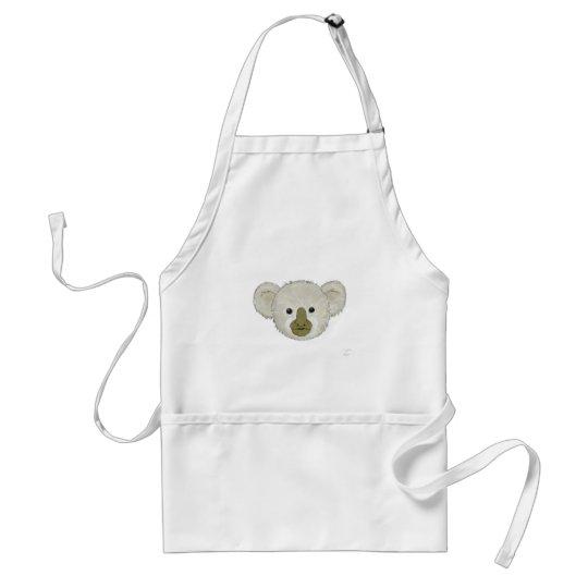 Cocoa Koala Bear Adult Apron