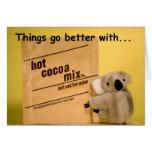 Cocoa Koala ZCard Greeting Cards
