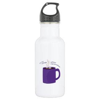 Cocoa Marshmallows 18oz Water Bottle