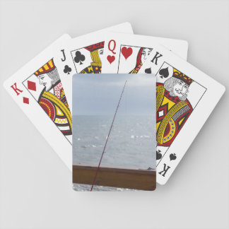 Cocoa Pier Fishing Playing Cards