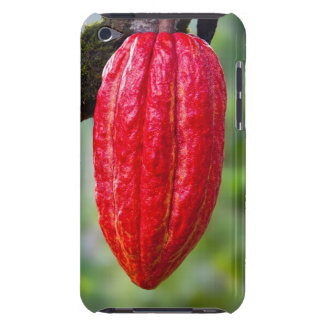 cocoa pod red barely there iPod cover