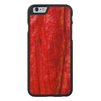 cocoa pod red carved cherry iPhone 6 slim case