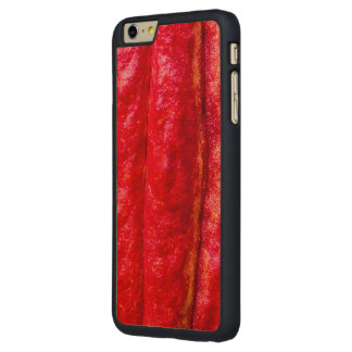 cocoa pod red carved maple iPhone 6 plus slim case