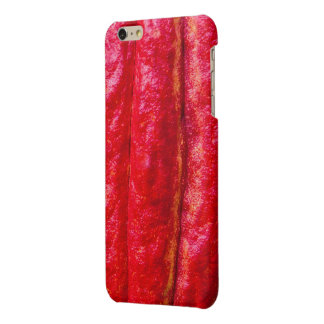 cocoa pod red glossy iPhone 6 plus case