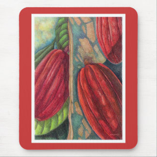 Cocoa Pods Mouse Pad
