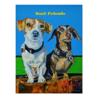 Cocoa & Poppy, Best Friends Poster