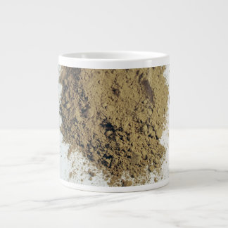 Cocoa powder giant coffee mug