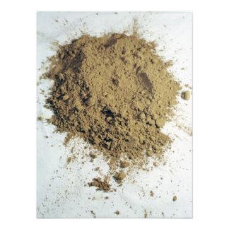Cocoa powder photo art