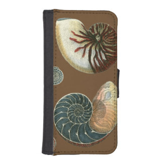 Cocoa Shell Phone Wallet Case