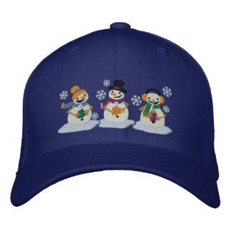 Cocoa Snowmen Baseball Cap