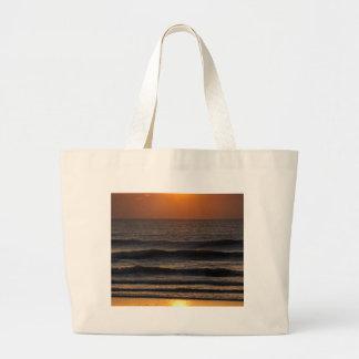 Cocoa Sunrise 2 Large Tote Bag