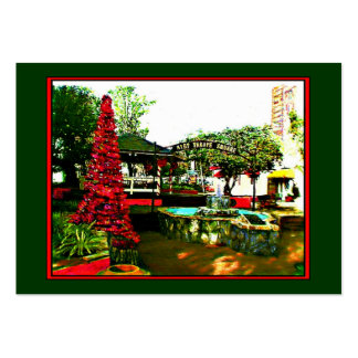 Cocoa Village Christmas 2004 Artist Trading Card Large Business Cards (Pack Of 100)