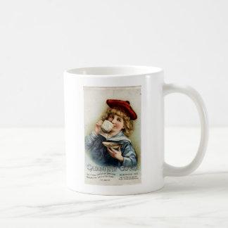 Cocoa vintage poster coffee mug