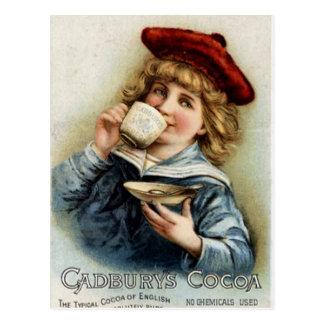 Cocoa vintage poster postcard