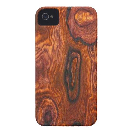 Cocobolo (wood) Finish BlackBerry Bold case
