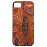 Cocobolo (wood) Finish iPhone 5 case