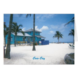 CocoCay Blank Note Cards