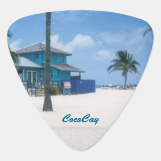 CocoCay Guitar Pick