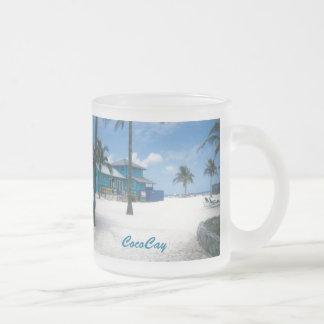 CocoCay Taza De Cristal