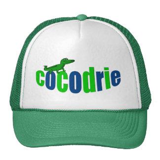 """""""Cocodrie"""" Cajun Alligator Trucker Hat"""