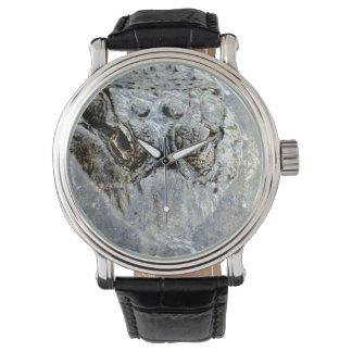 Cocodrilo 2 relojes de pulsera