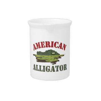 Cocodrilo americano jarra