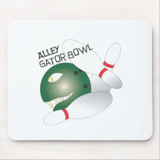 Cocodrilo Bowl.ai del callejón Alfombrilla De Ratón