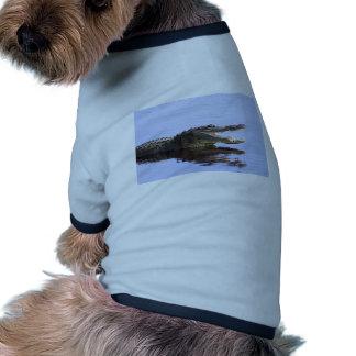 Cocodrilo Camisetas Mascota