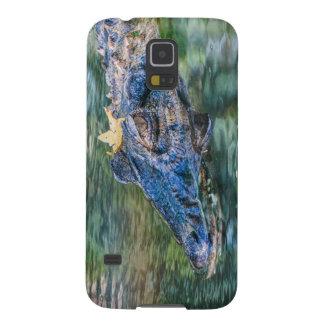 Cocodrilo con un caso de Samsung S5 de la corona Fundas De Galaxy S5