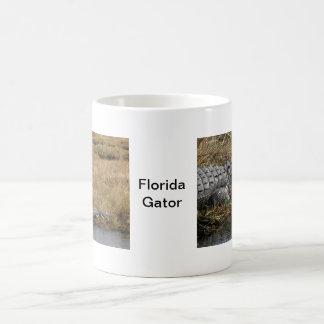 Cocodrilo de la Florida en un pantano Taza De Café