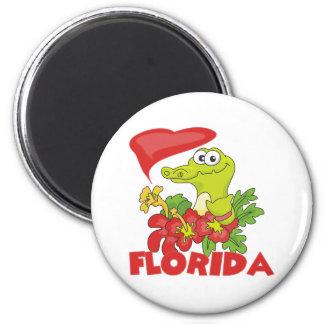 Cocodrilo de la Florida Imán Para Frigorífico