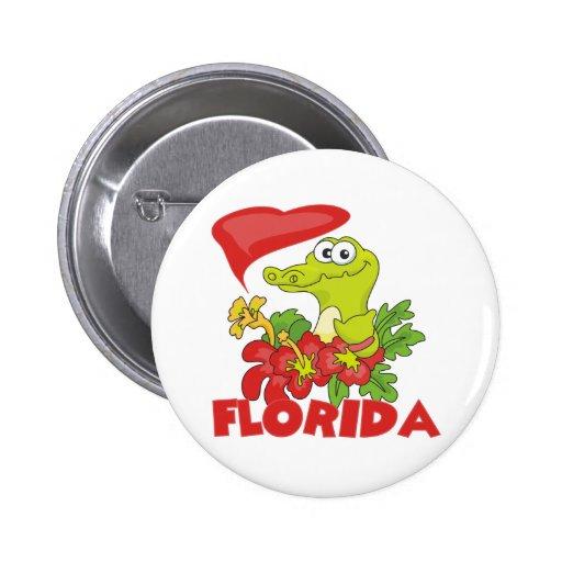 Cocodrilo de la Florida Pin