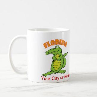 Cocodrilo de la Florida Taza Clásica